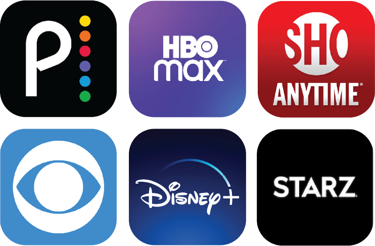 Streaming Providers Icons