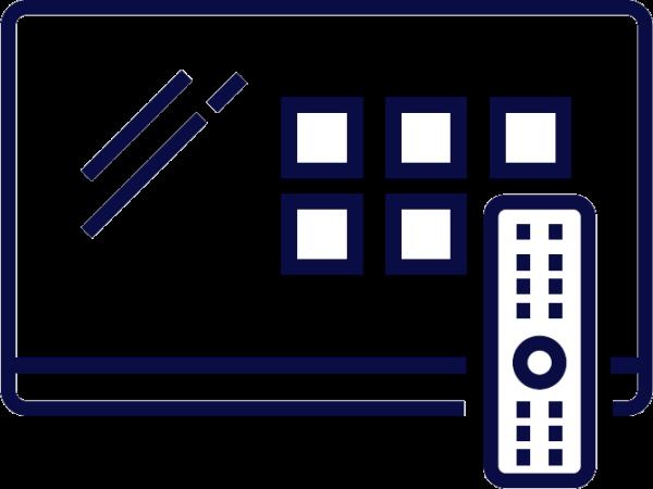 icon - tv guide with remote